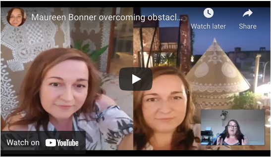 Maureen Bonner overcoming obstacles of terminal illness to fulfil her mission to teach others!